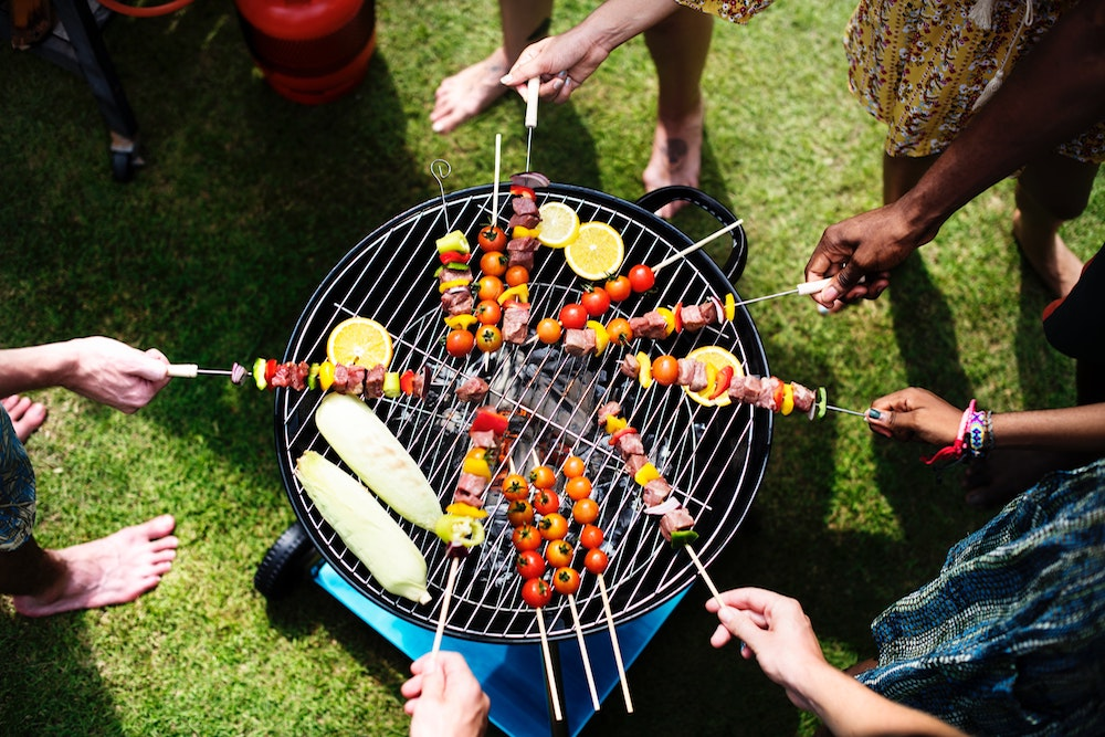 Grilling without meat bees/yellow jackets